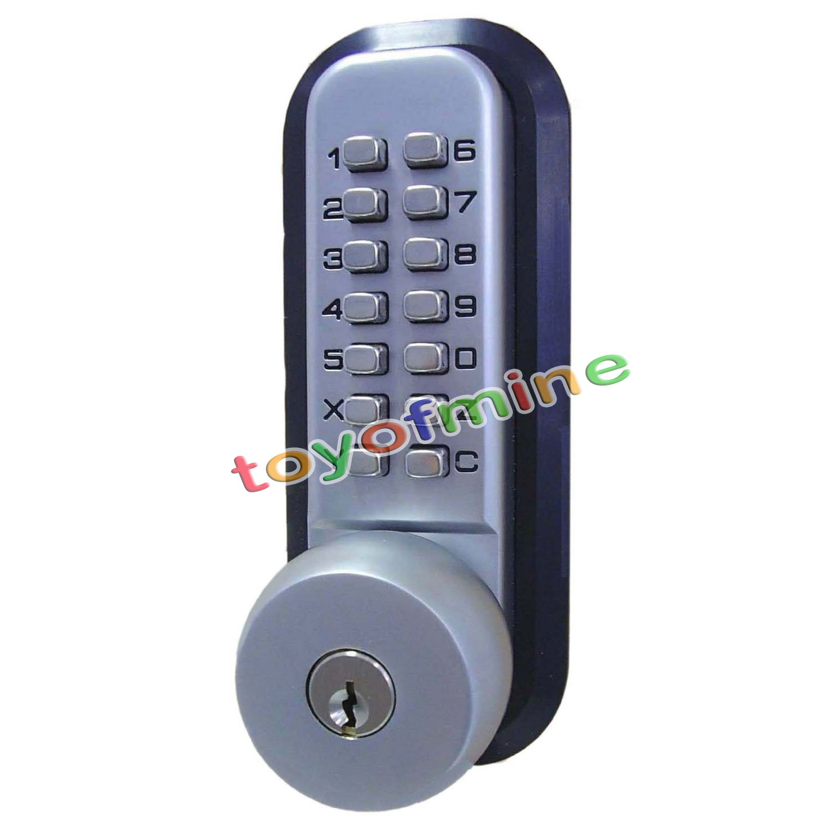 Mechanical Digital Keypad Button Door Code Lock Home
