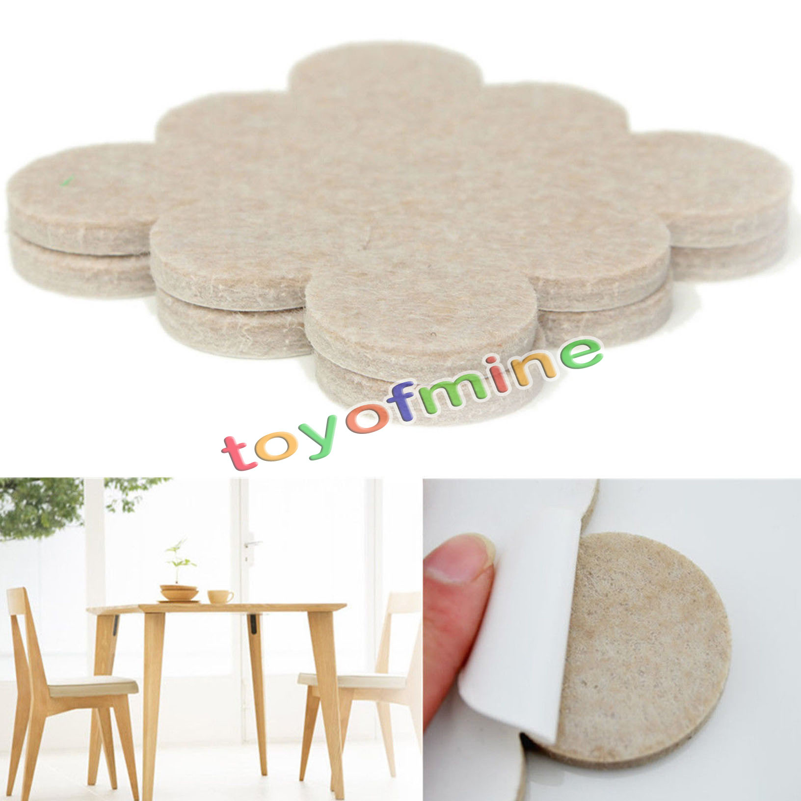 Kitchen Chairs Scratch Wood Floor: 18PCS Self Adhesive Floor Furniture Wall Chair Scratch