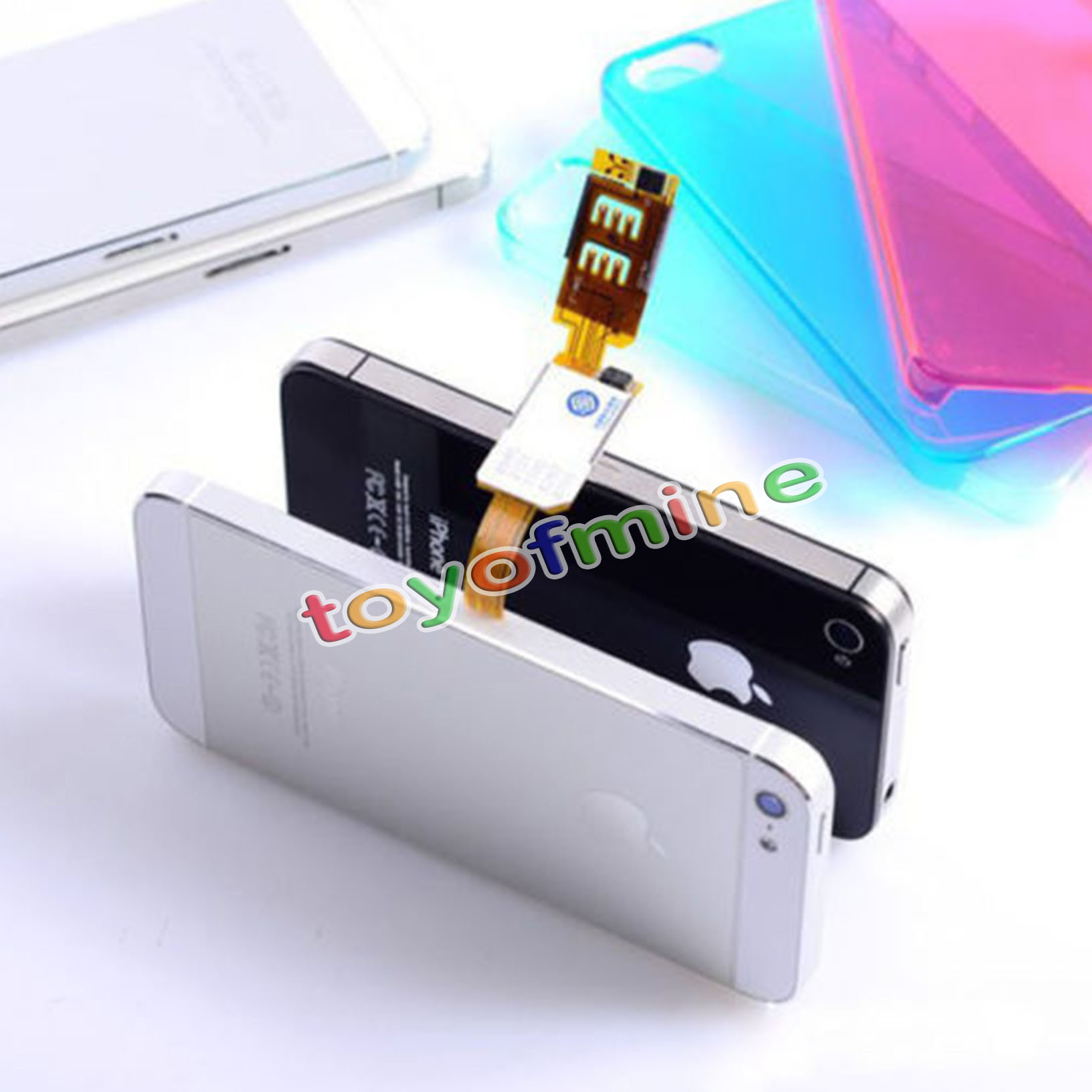 do iphone 5c have sim cards dual sim card adapter convertor for iphone 5 5s 5c 18379