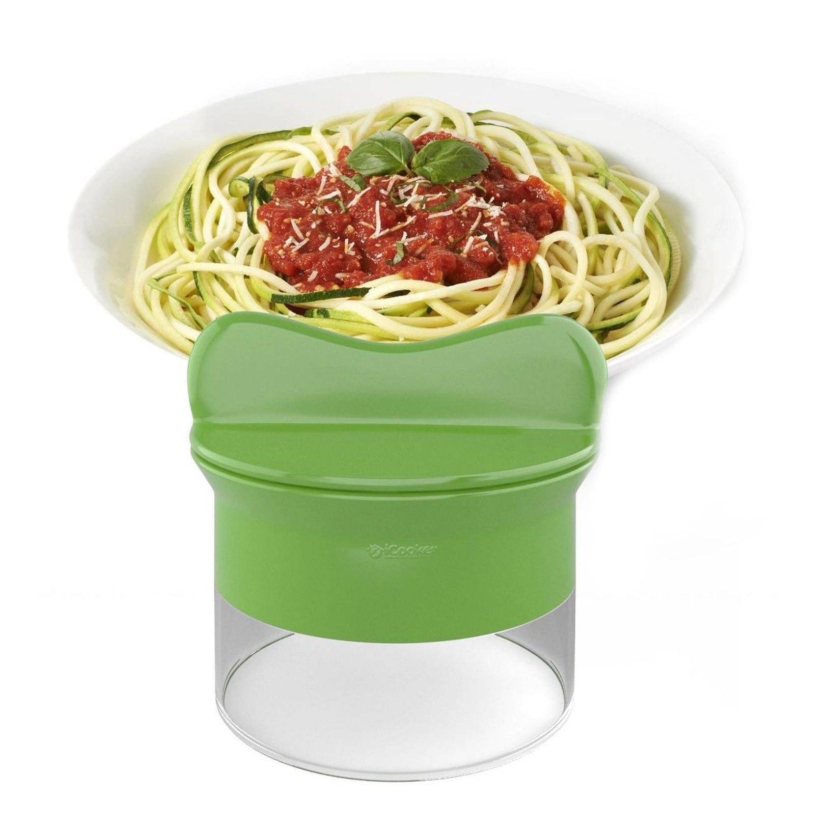 handheld spiralizer noodles zucchini spaghetti pasta maker vegetable slicer ebay. Black Bedroom Furniture Sets. Home Design Ideas