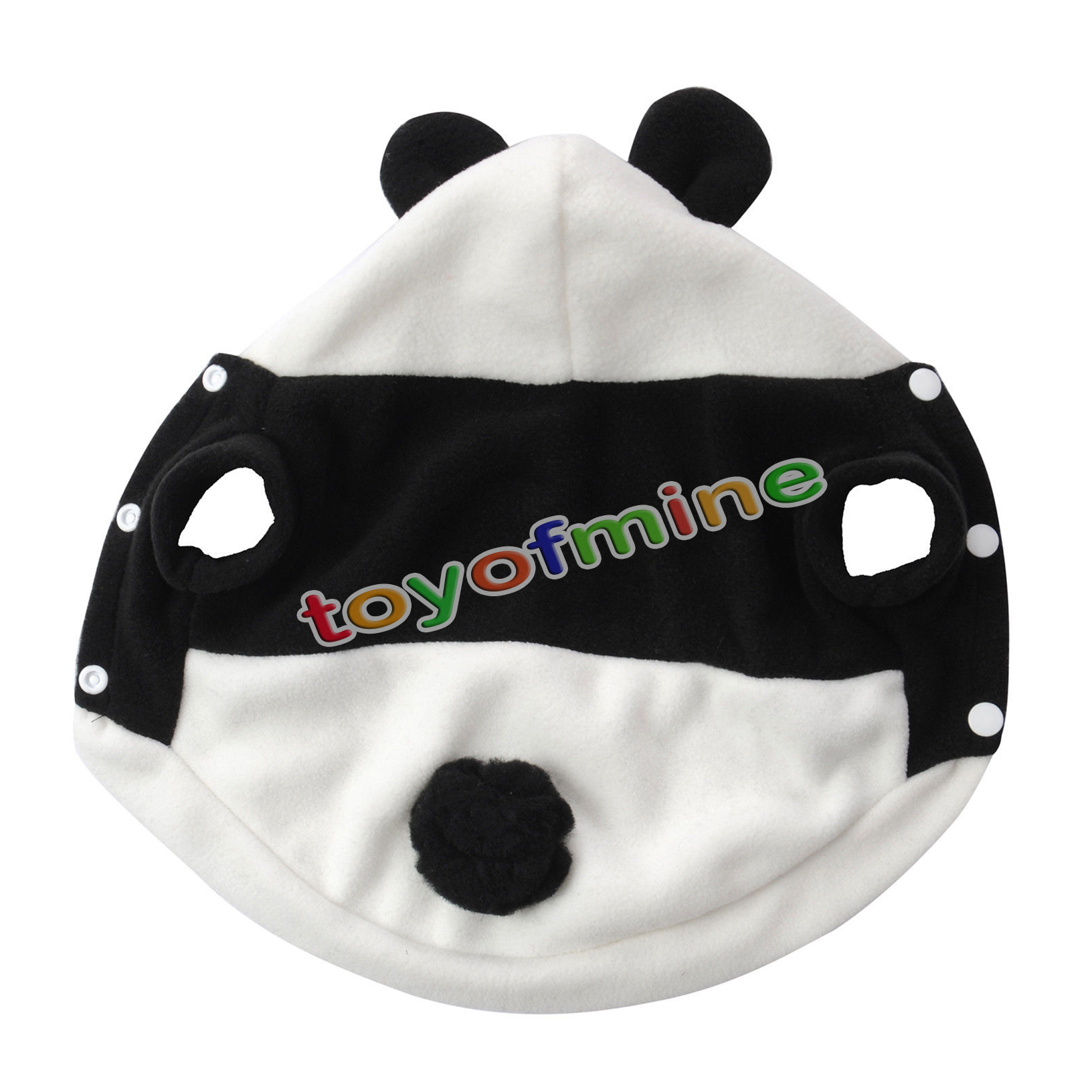 panda costume clothes for pet cat ebay