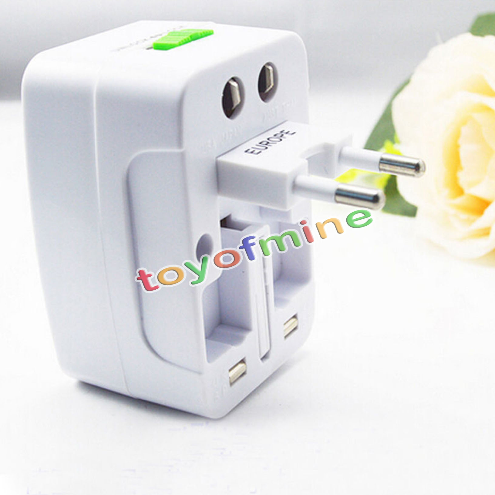 travel power 2usb ladeger t universal adapter au uk us euall inone international ebay. Black Bedroom Furniture Sets. Home Design Ideas