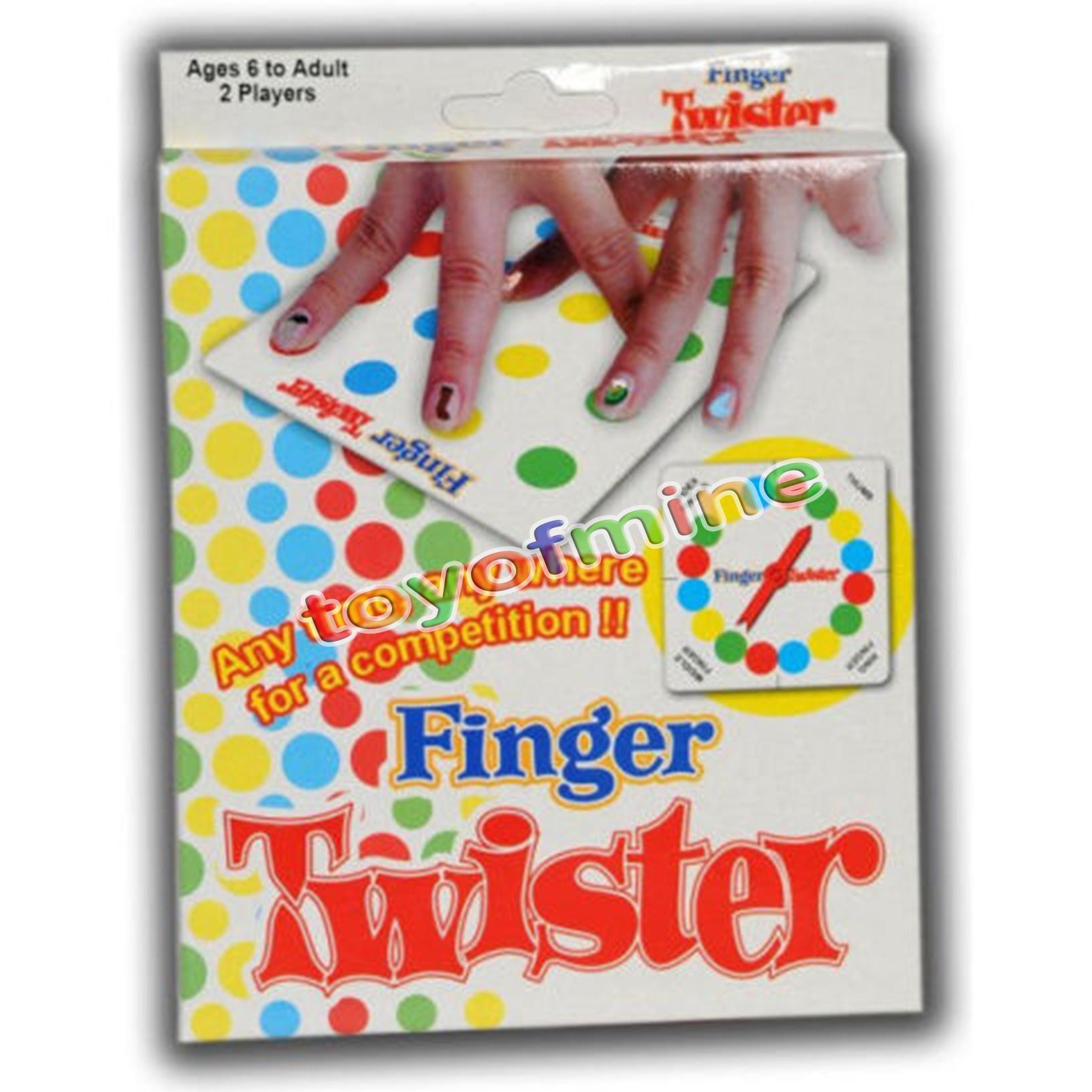 finger twister brettspiel mini version tisch party spiele geschenk ebay. Black Bedroom Furniture Sets. Home Design Ideas