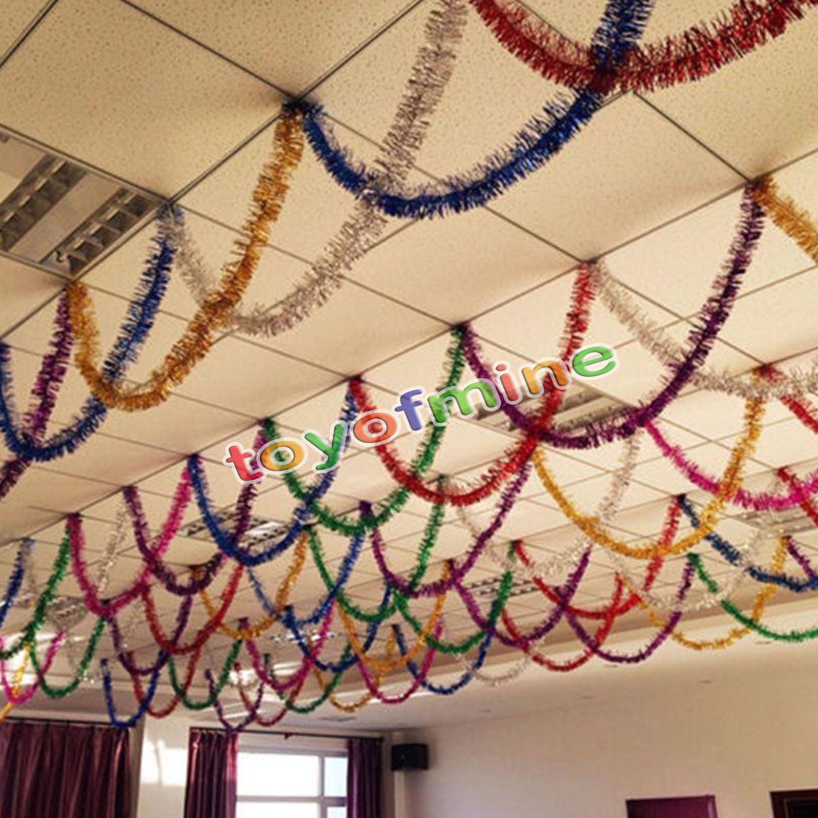 M christmas xmas tree hanging decoration tinsel garland