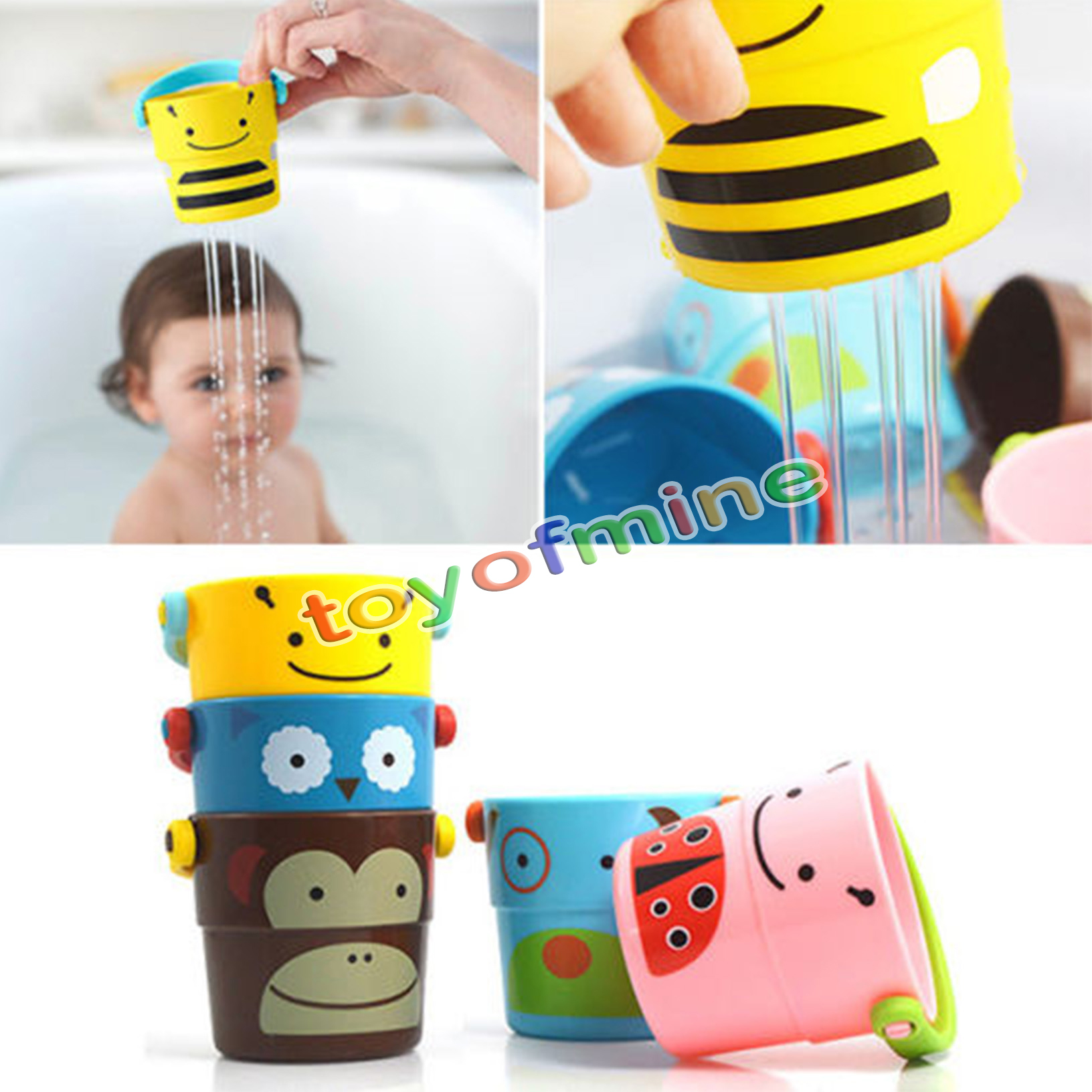 1pcs baby newborn toddler children kid tub bath bucket bathtub bathing water toy ebay. Black Bedroom Furniture Sets. Home Design Ideas