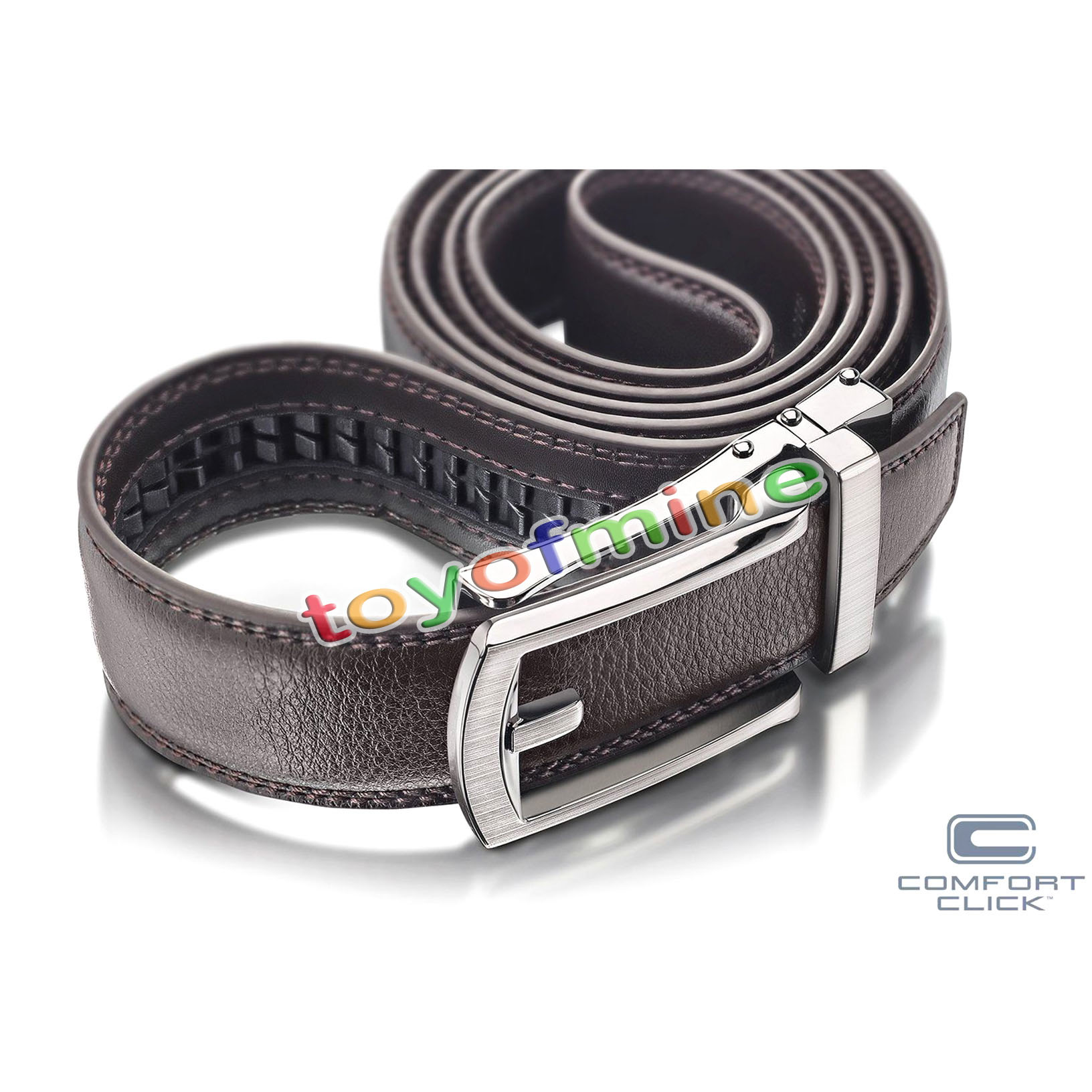 New Comfort Click Belt For Men Black Or Brown As Seen On
