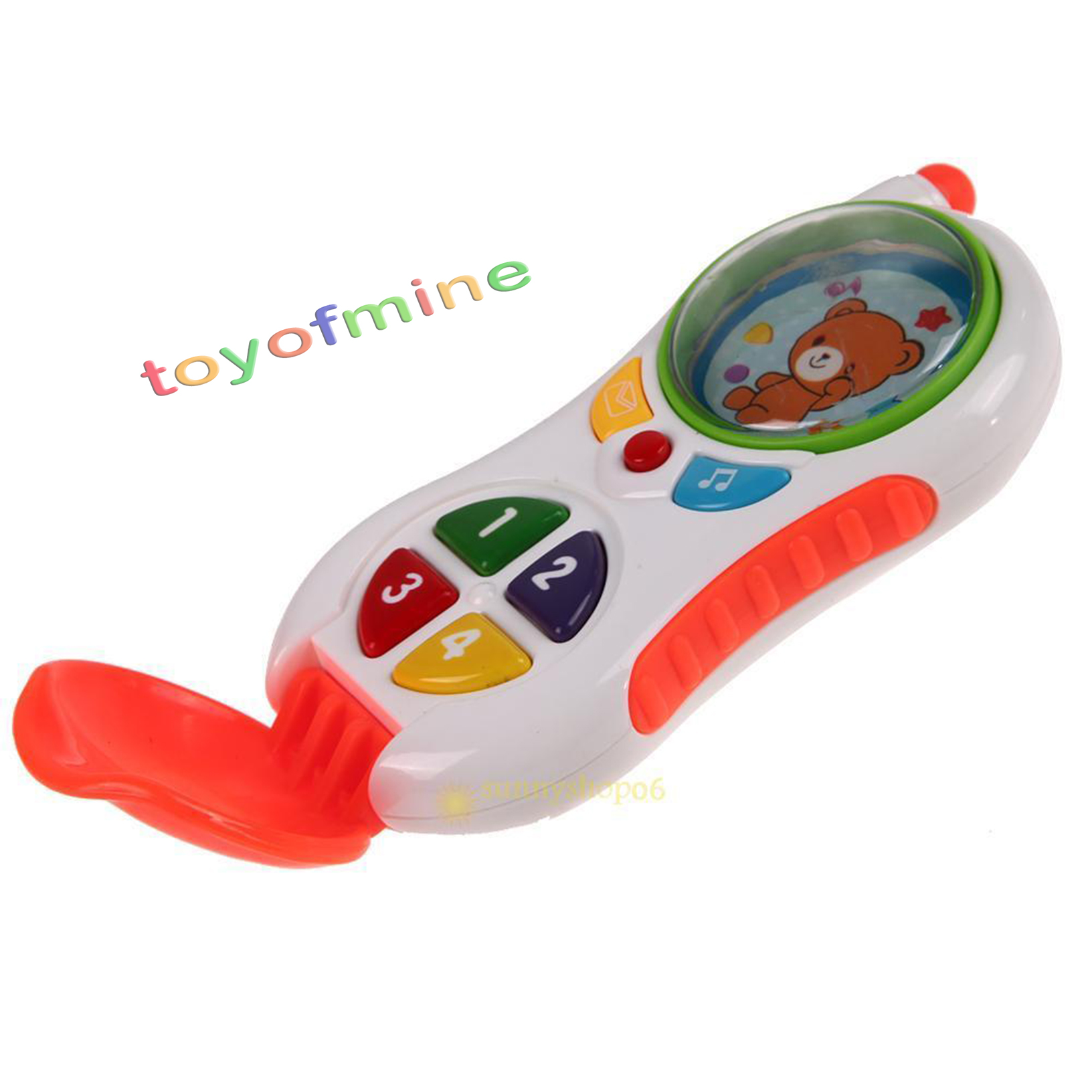 Musical Educational Toys : Baby kids musical phone toy toddler children sound
