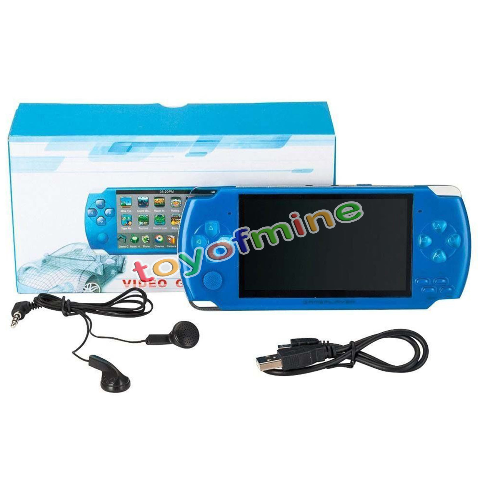 8gb 4 3 39 39 32bit 10000 Games Built In Portable Handheld