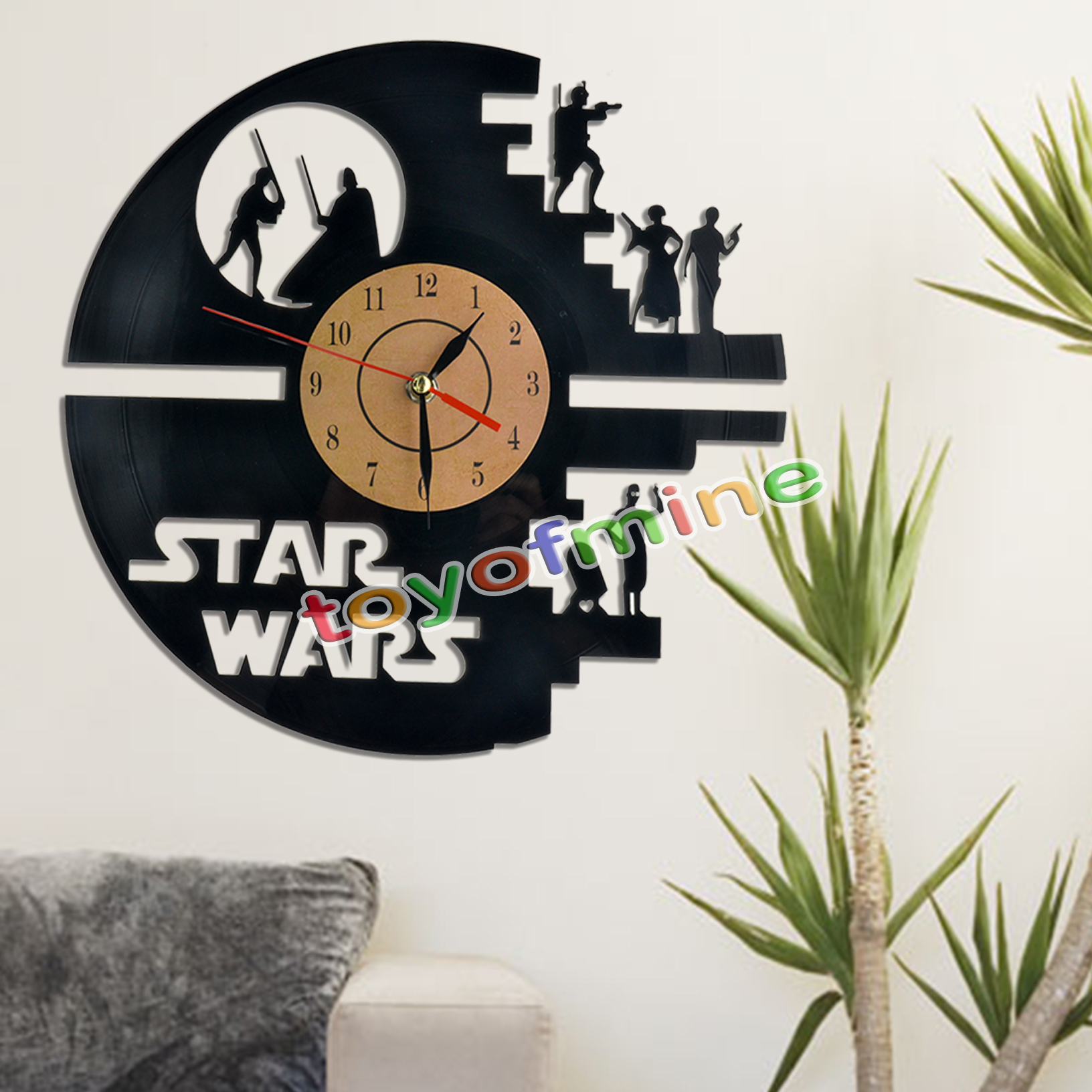 Star Wars Boba Fett Yoda Chewbacca Luke Skywalker Wall