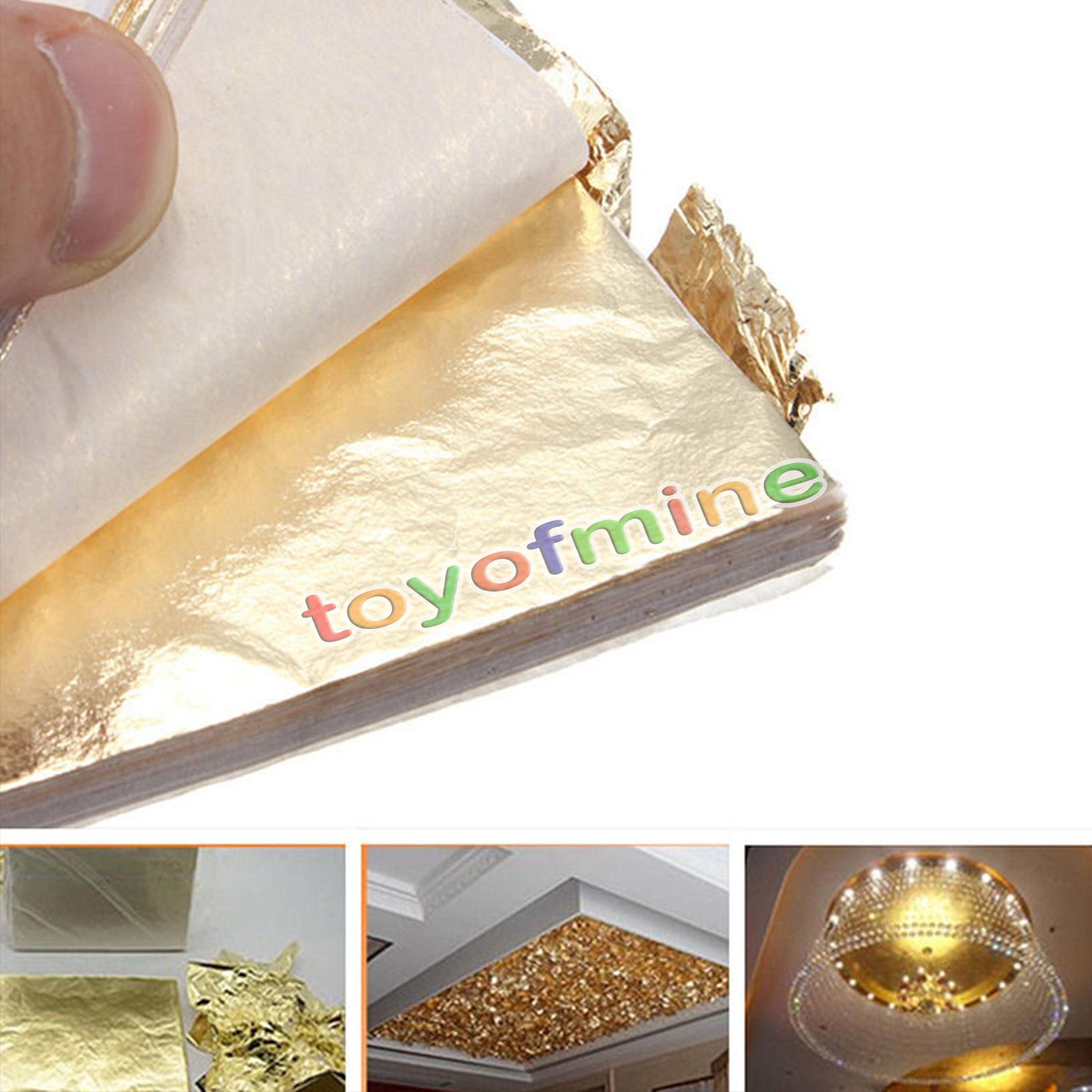 Gold Leaf Craft Supplies Ebay