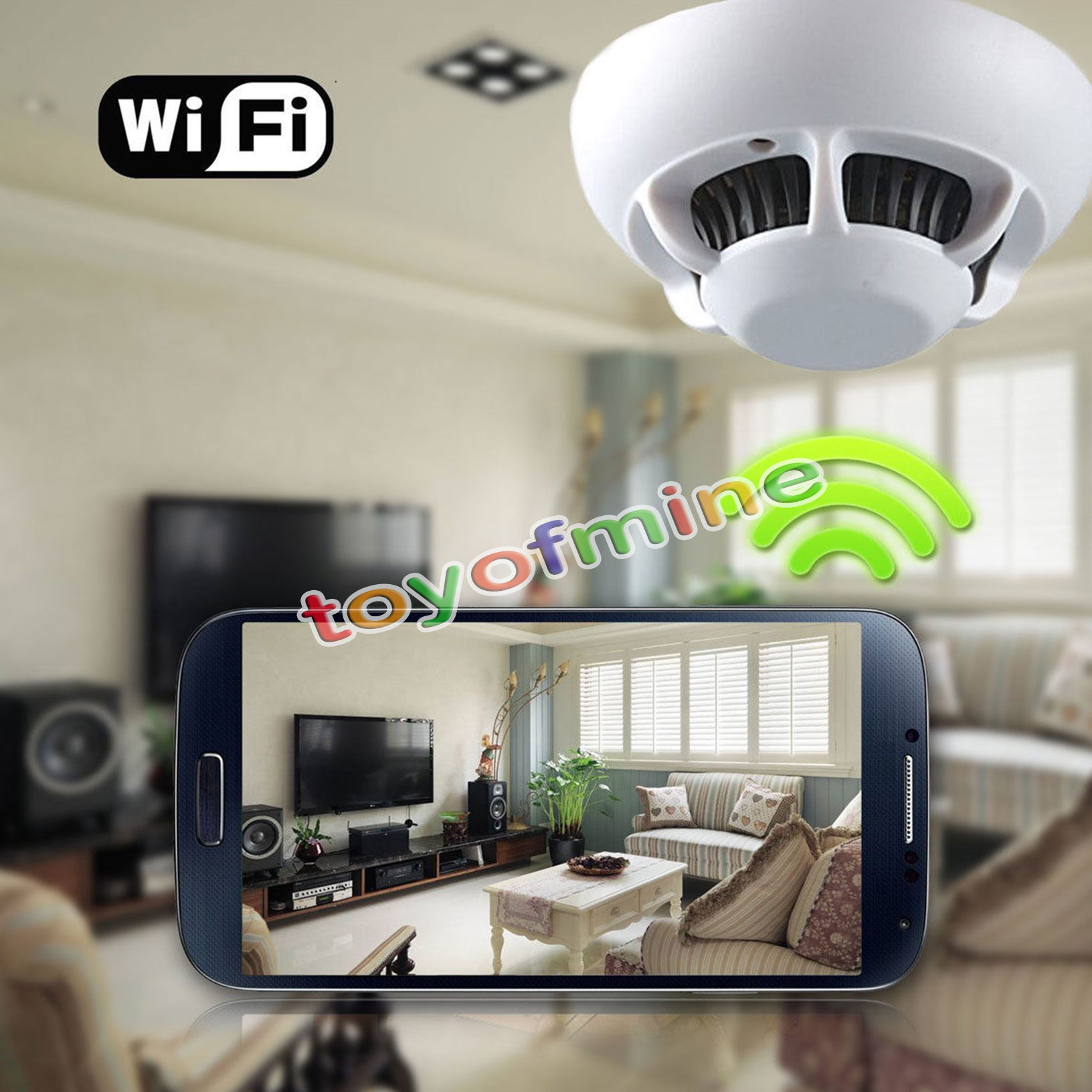 how to record a phone call on iphone 720p covert cctv ufo smoke detector wifi 20955