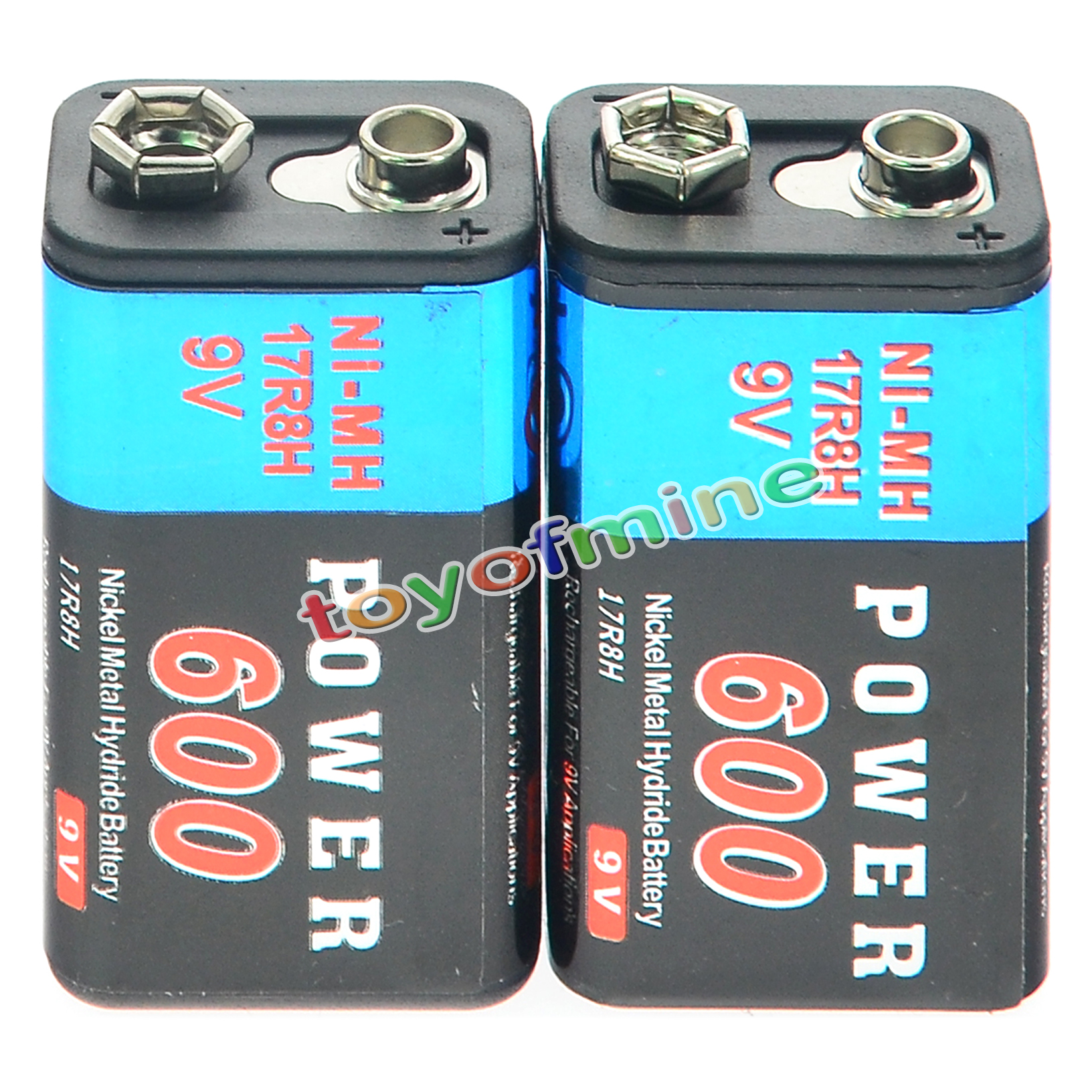 2pcs durable 9v 9 volt 600mah power ni mh rechargeable. Black Bedroom Furniture Sets. Home Design Ideas
