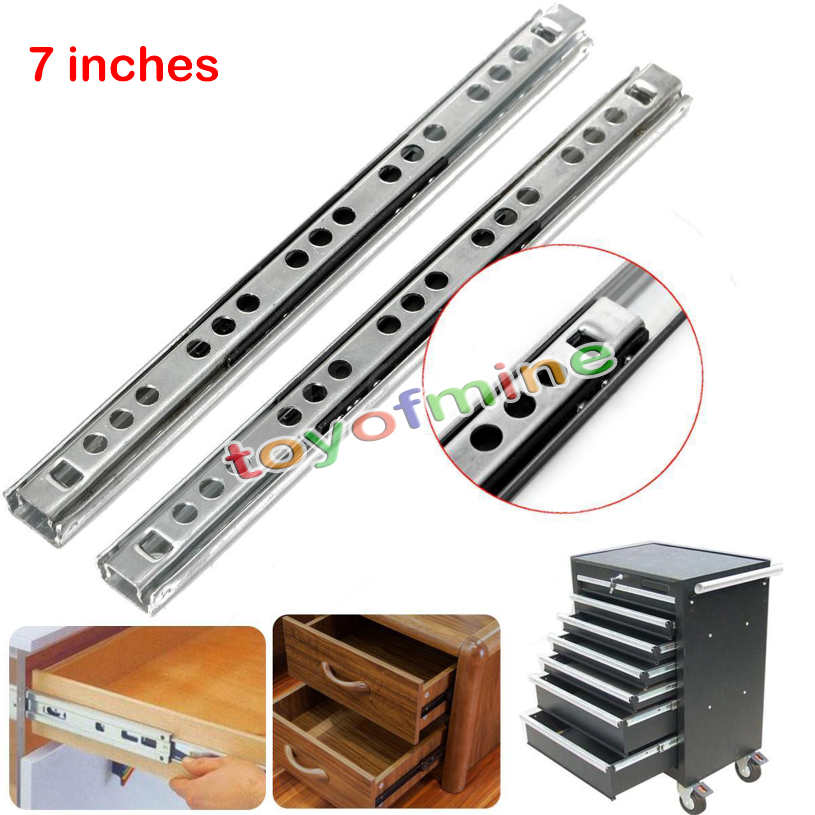 kitchen cabinets set 180mm 400mm heavy runners bearing drawer slides rail 21173