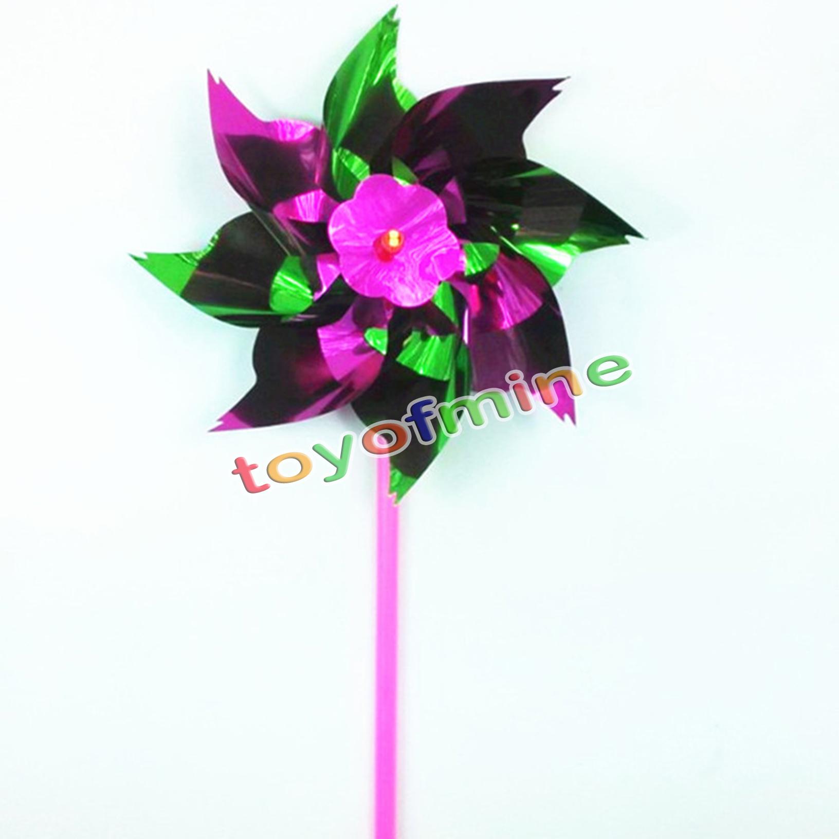 1 jard n molino de viento flor ni os juguete navidad for Molinos de viento para jardin