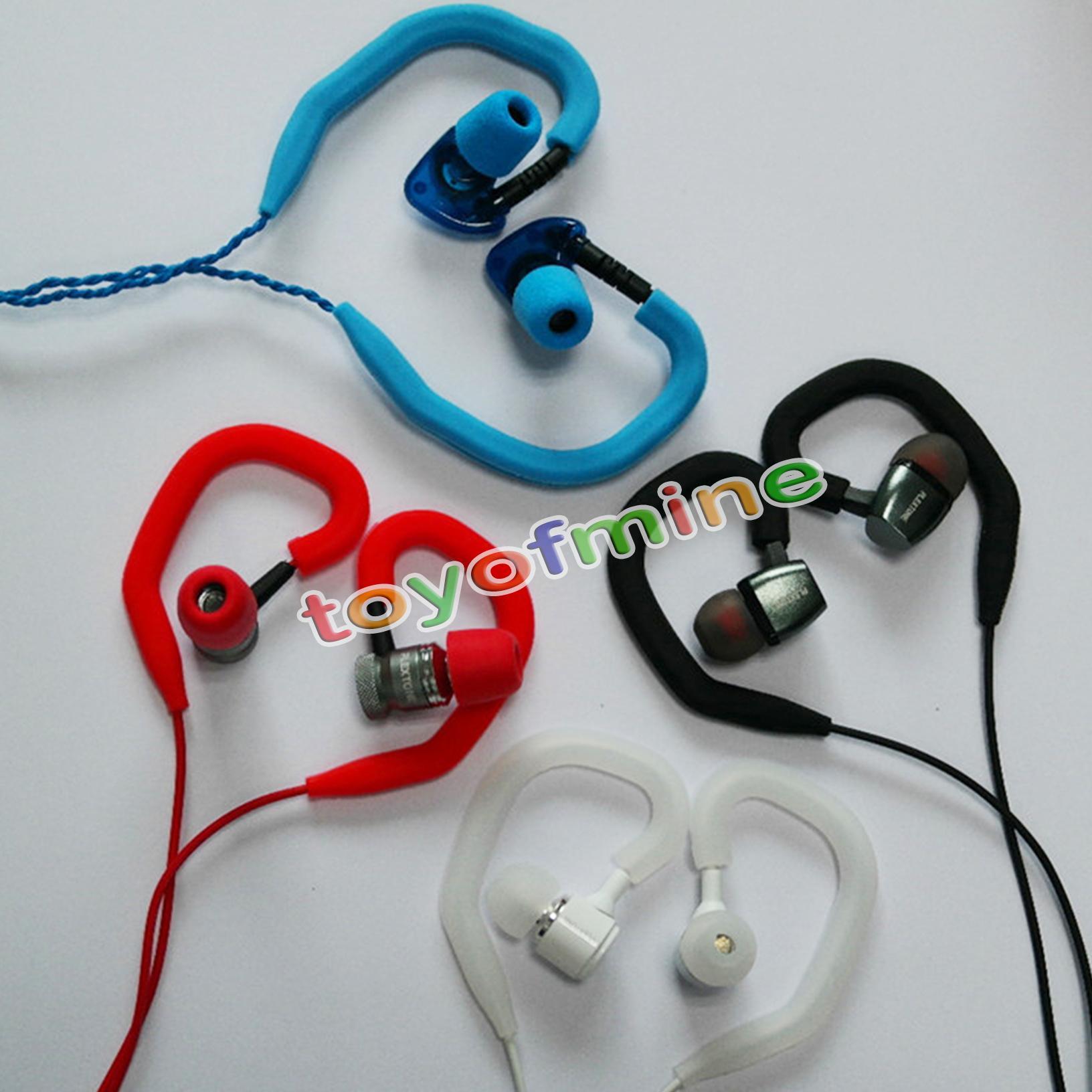 soft ear hook loop clip hanging in ear clamps earphones. Black Bedroom Furniture Sets. Home Design Ideas