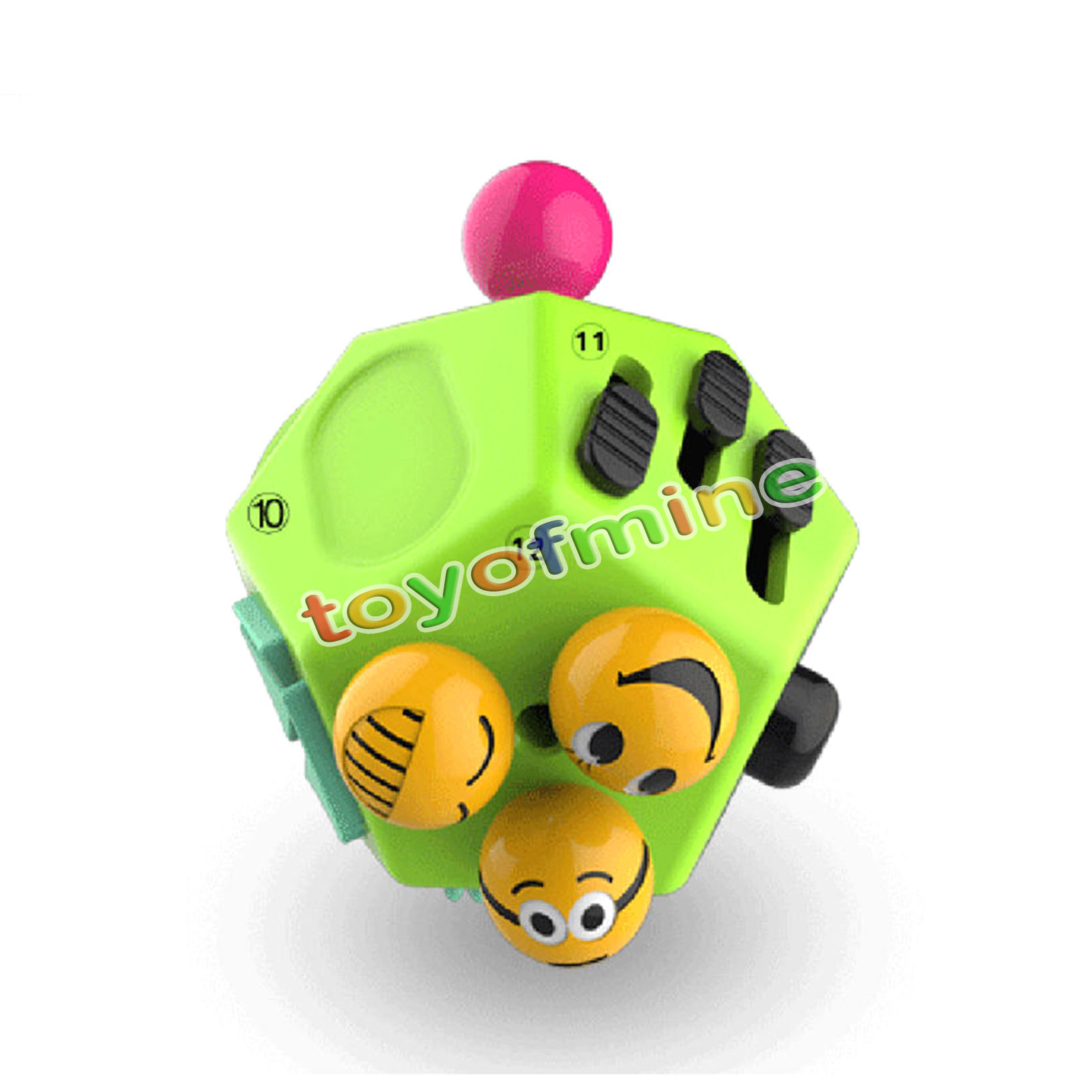 Autism Toys For Adults : Fidget cube toy Ⅱ anxiety stress relief autism side