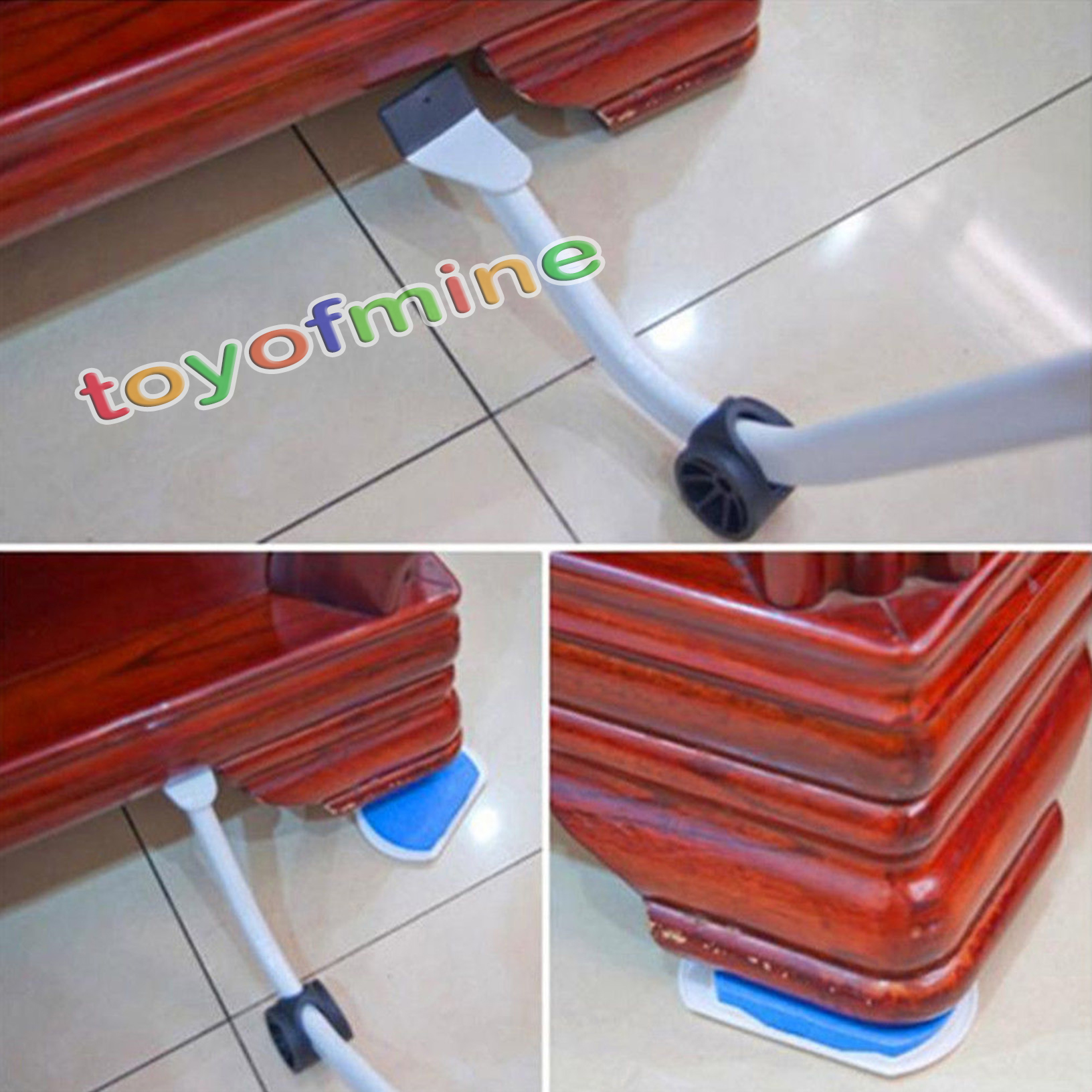 Heavy Furniture Moving System Lifter Tool With 4 Slide