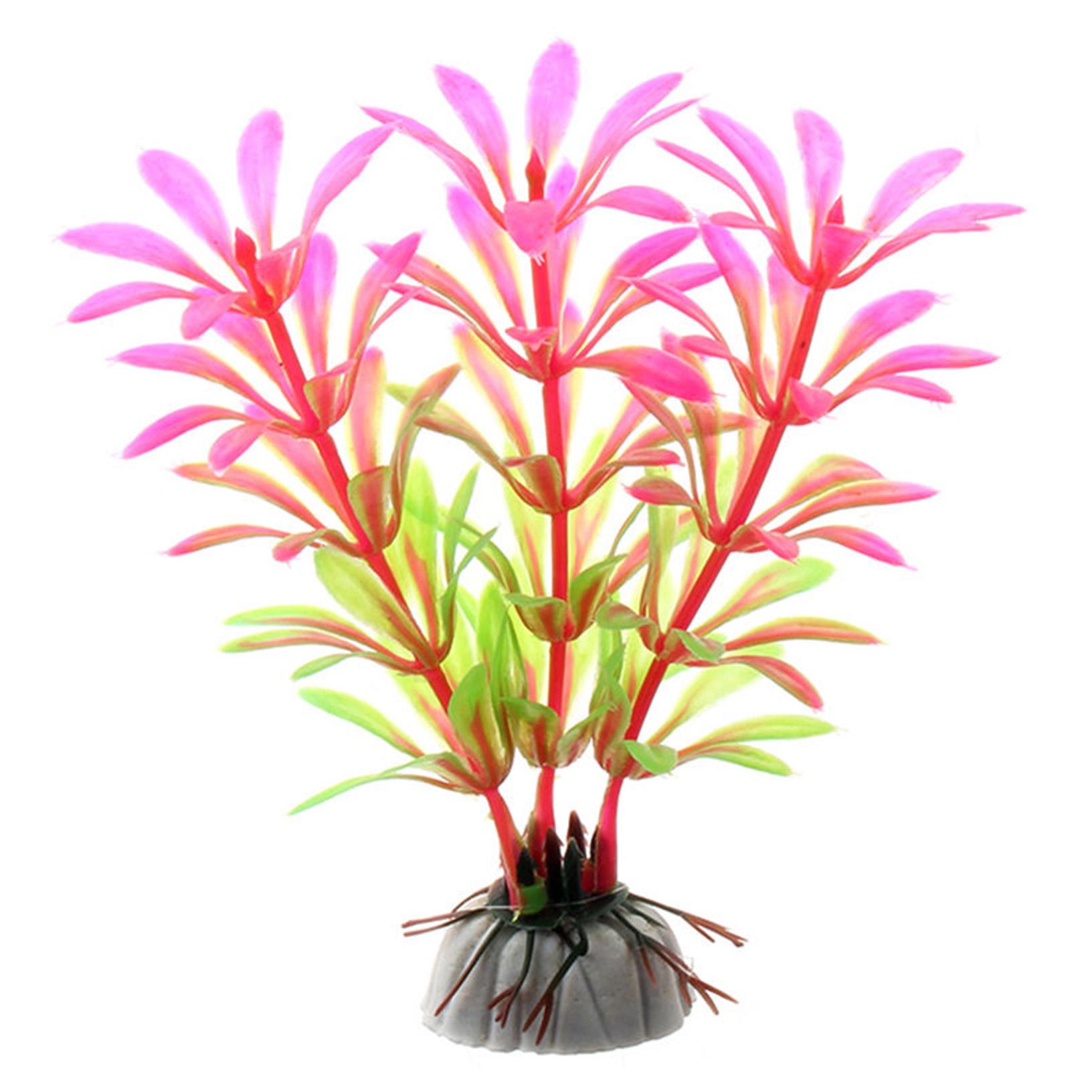 10xaquarienpflanzen tropische pflanzen wasserpflanzen for Deko fische plastik