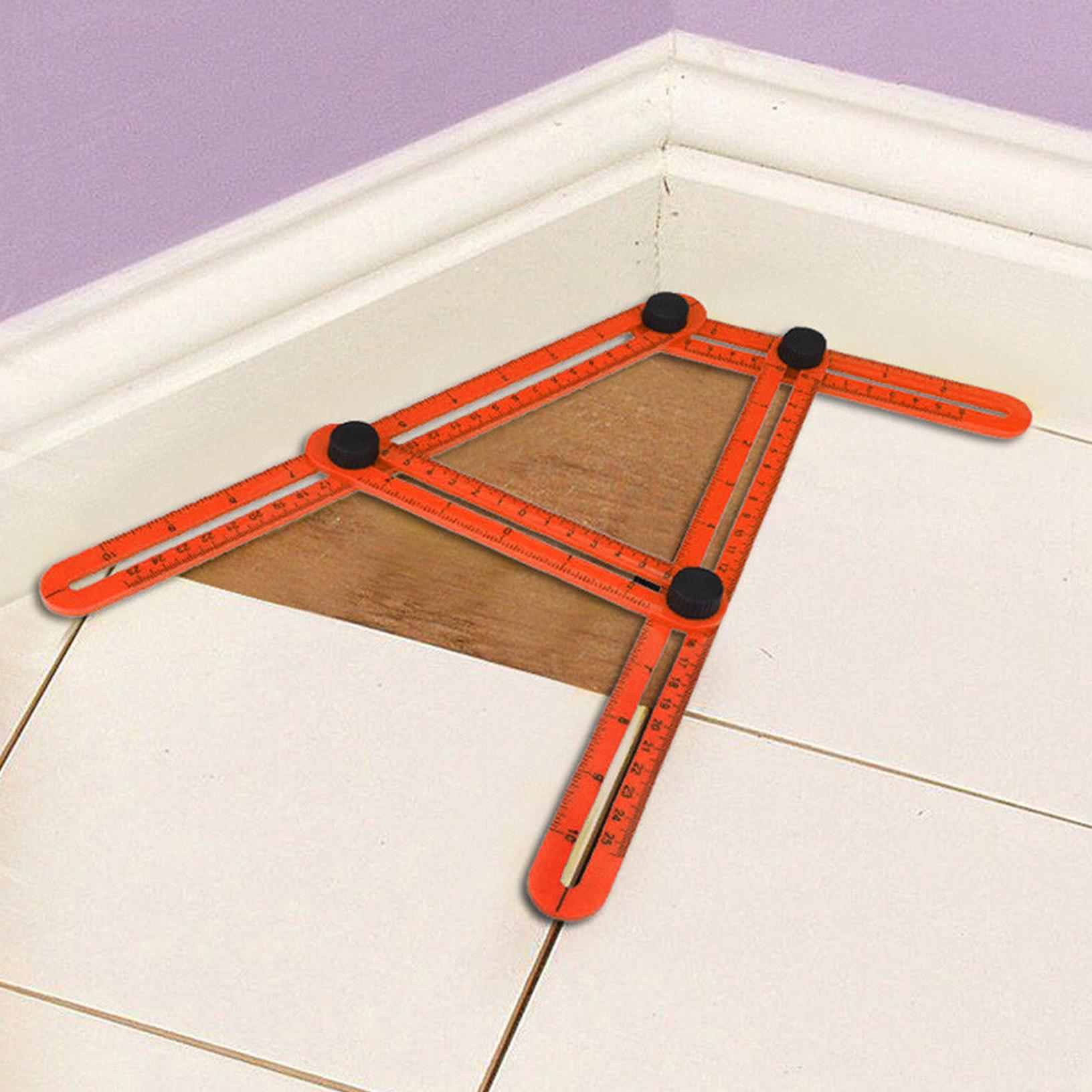 plastique composite pliant r gle multi angle quatre outil. Black Bedroom Furniture Sets. Home Design Ideas
