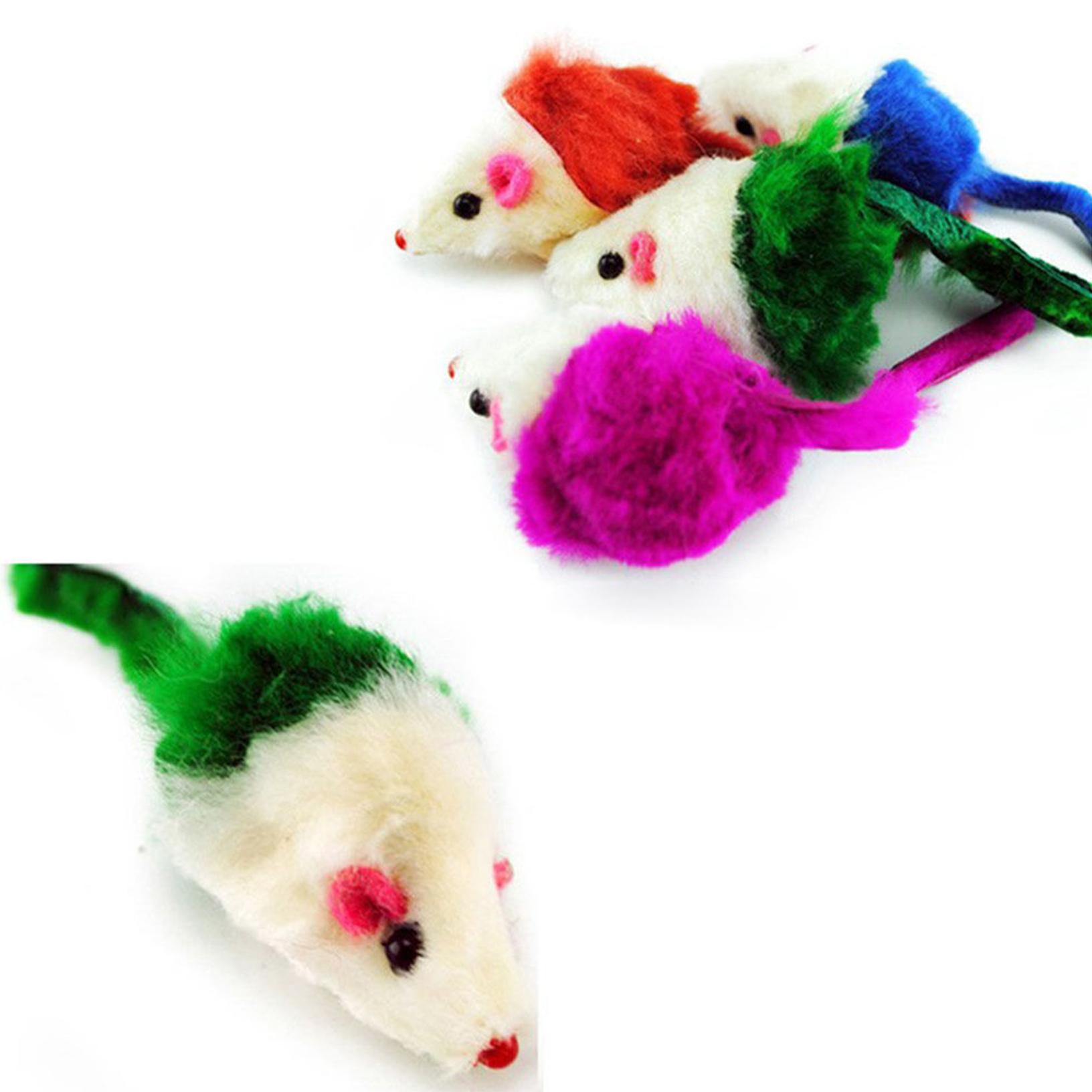Pcs nettes falsches maus spielzeug für katze kätzchen