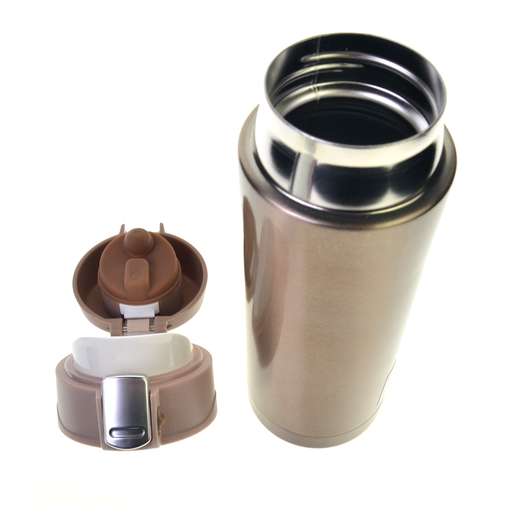 stainless steel mug thermos vacuum insulated travel tumbler coffee mug cup new ebay. Black Bedroom Furniture Sets. Home Design Ideas