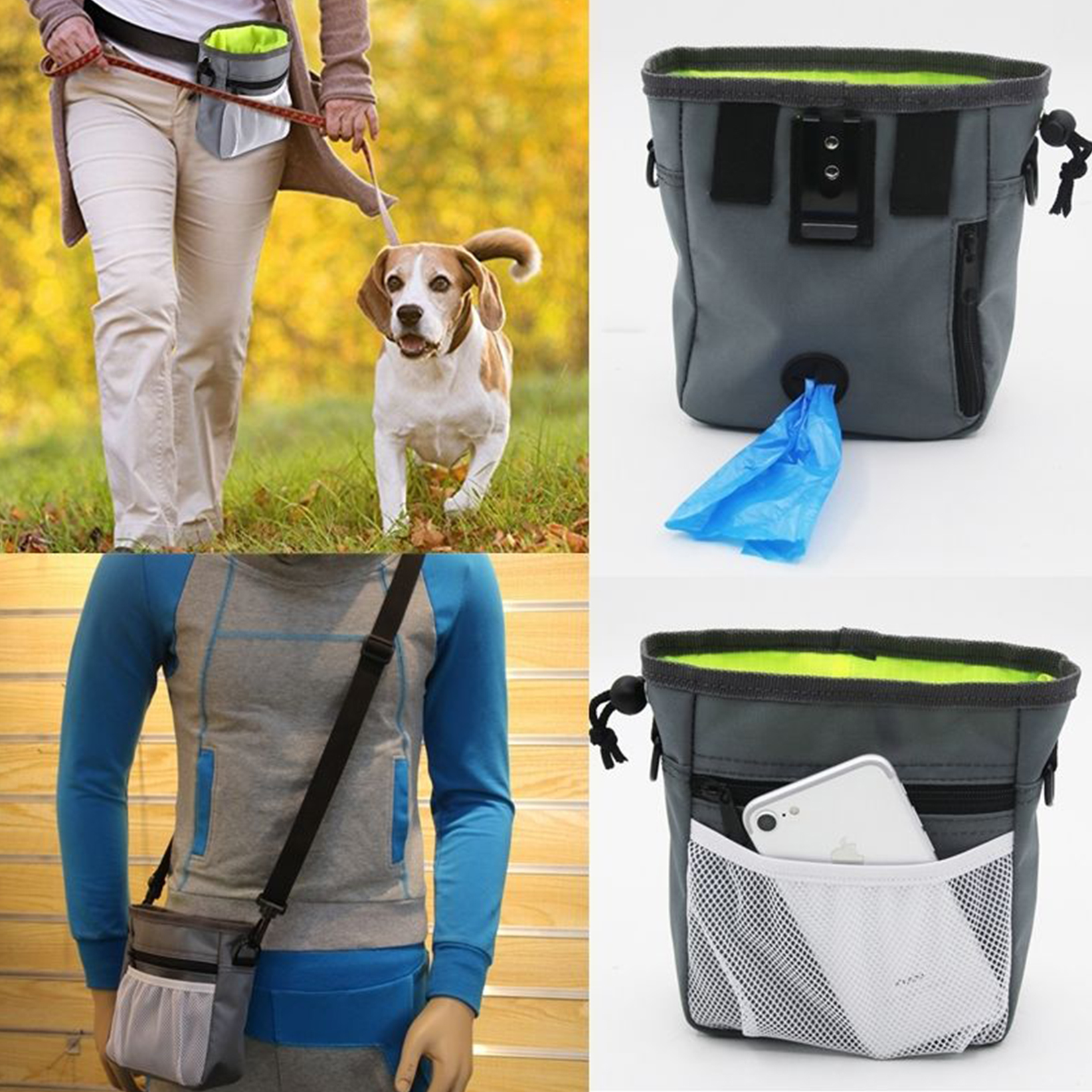 dog agility when the purchase of a dog gift dog training Dog training bag with snacks