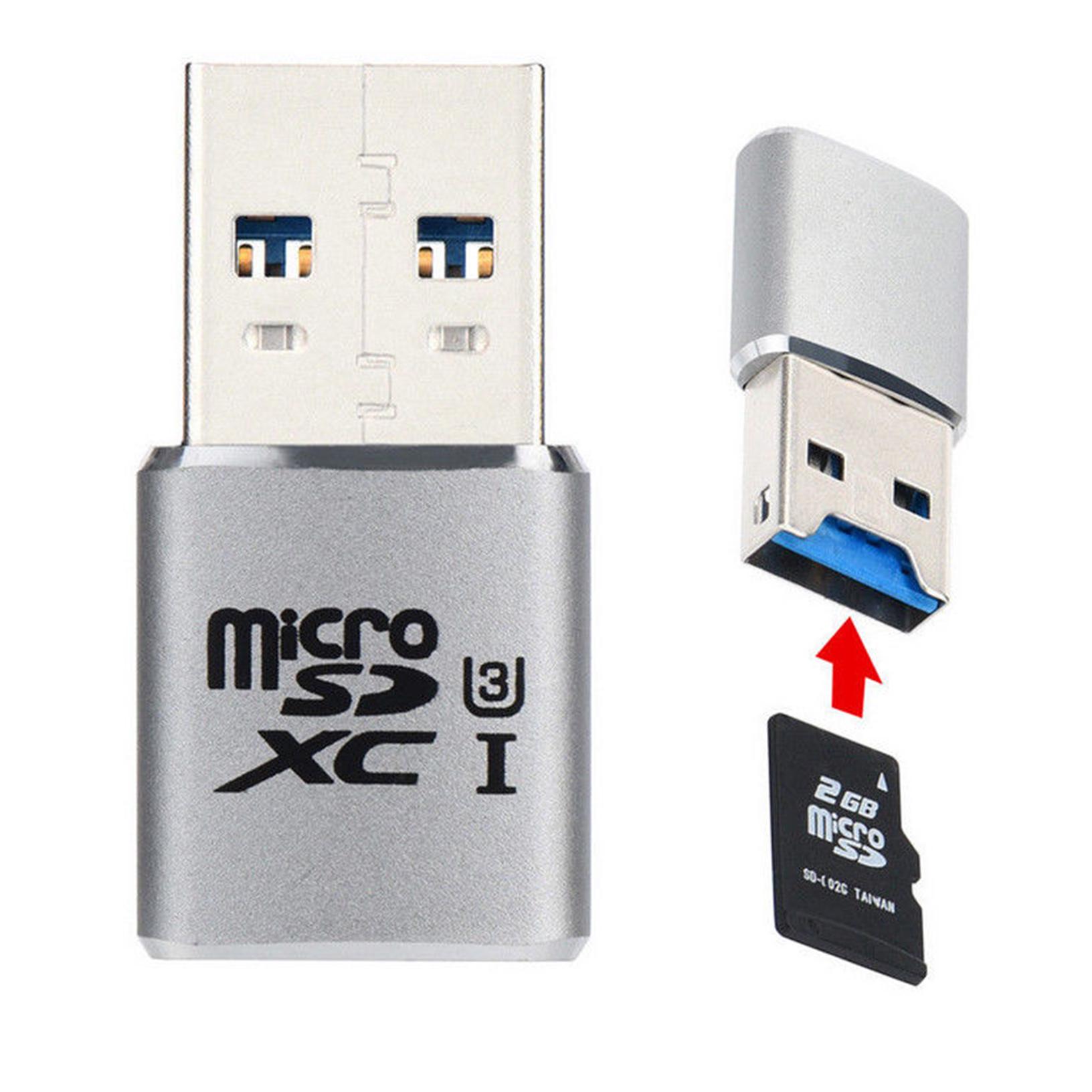 Mini Sd Kartenleser.Details About High Speed Usb 3 0 Mini Card Reader Micro Sd Sdxc Aluminum Tf Card Reader