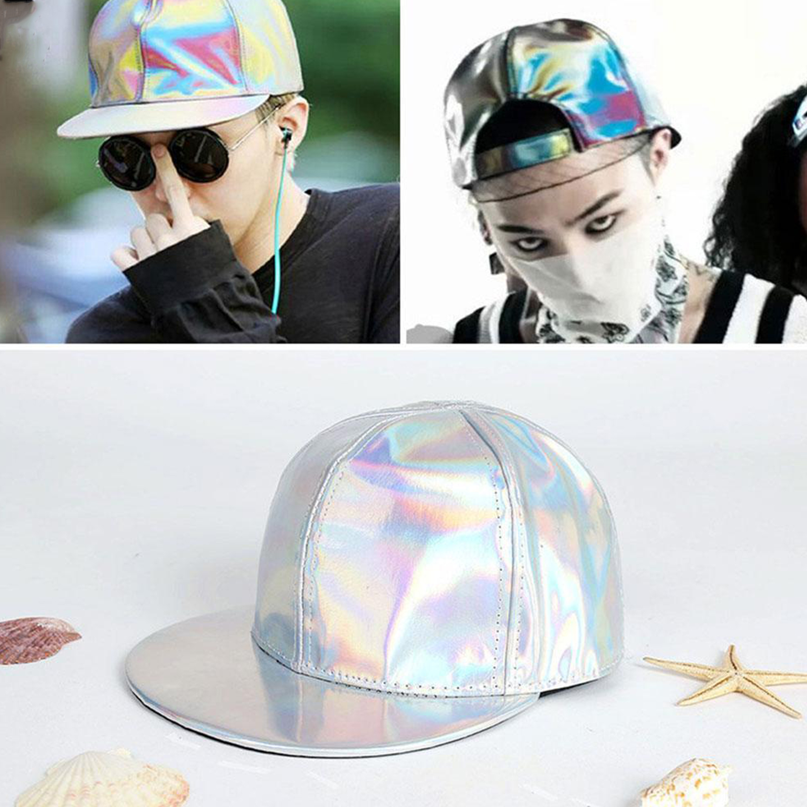 Details about Bigbang G-dragon Color Changing Snapback BACK TO THE FUTURE  Cap MARTY MCFLY Hat