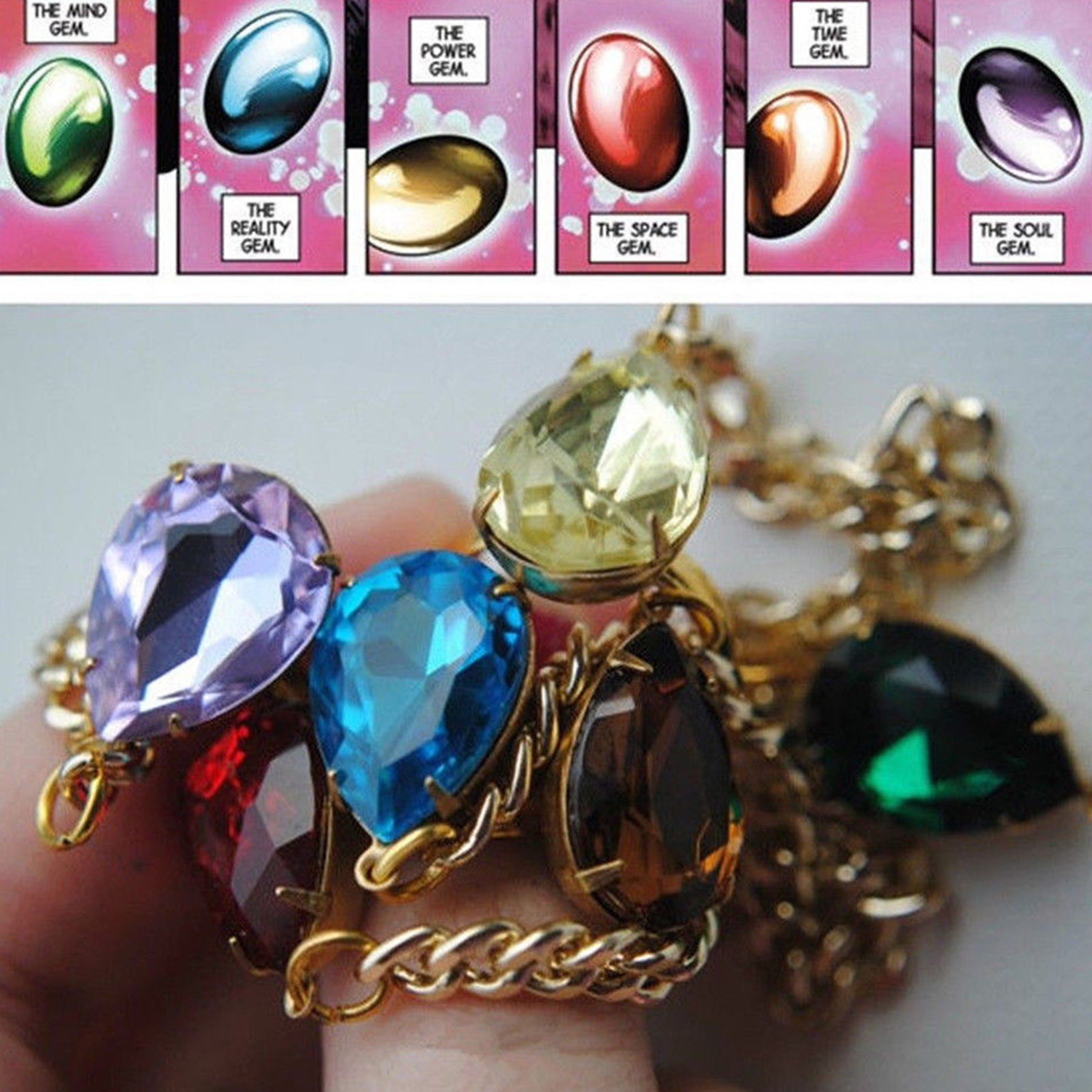 Marvel Legends THANOS Infinity War Gauntlet Bracelet Ring Handchain Cosplay Prop
