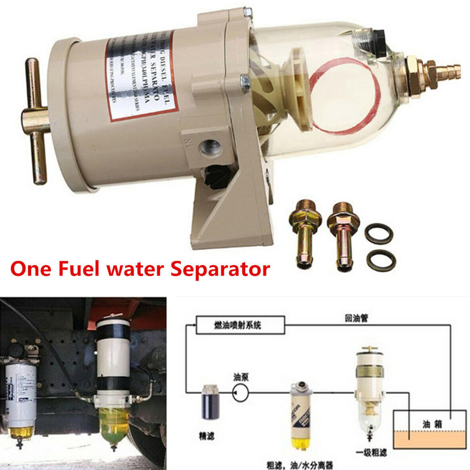 diesel truck diesel marine boat fuel filter / water separator 500fg 500fh |  ebay  ebay