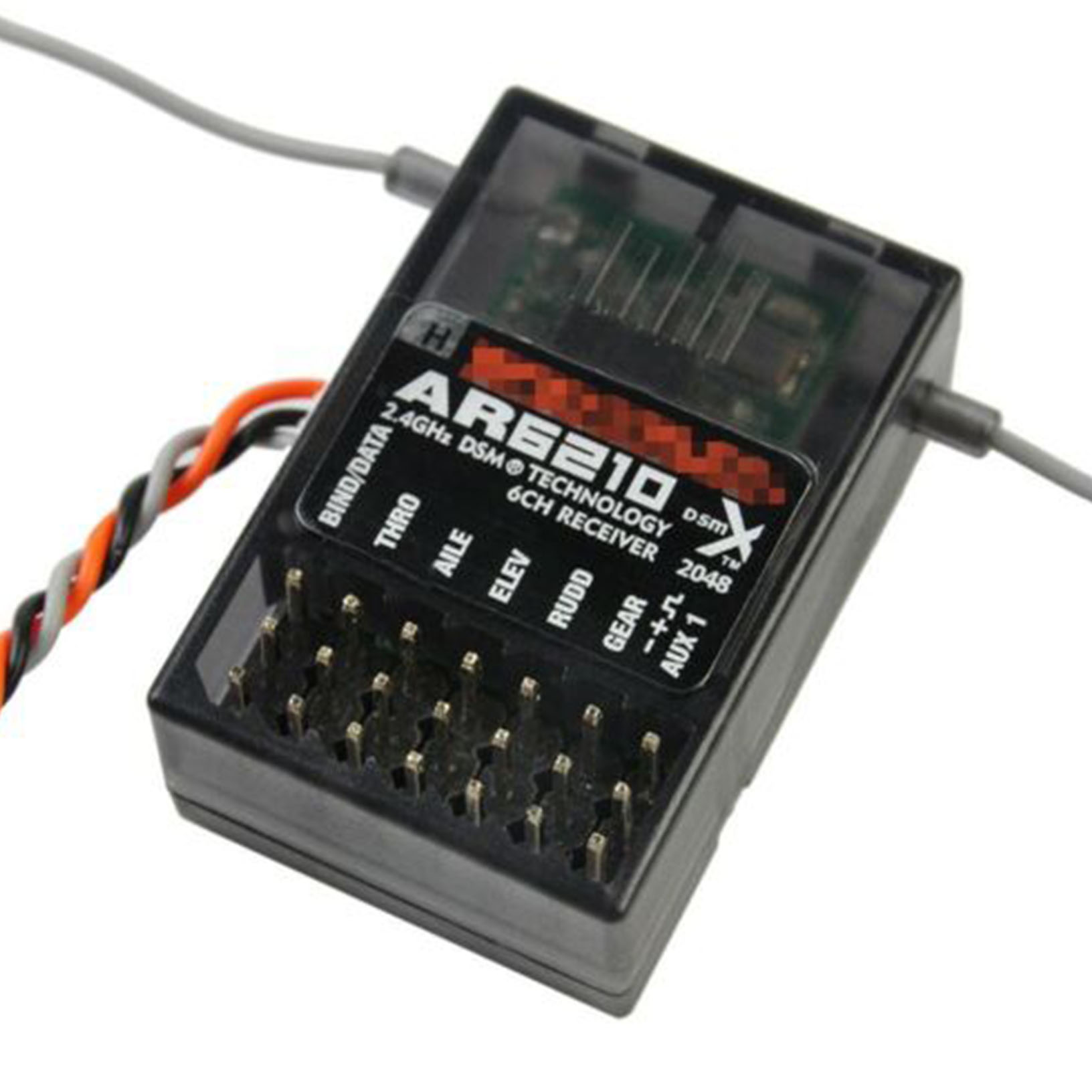 AR6210 DSMX Empfänger Receiver Support DSM2 Für Spektrum Transmitter RC ED