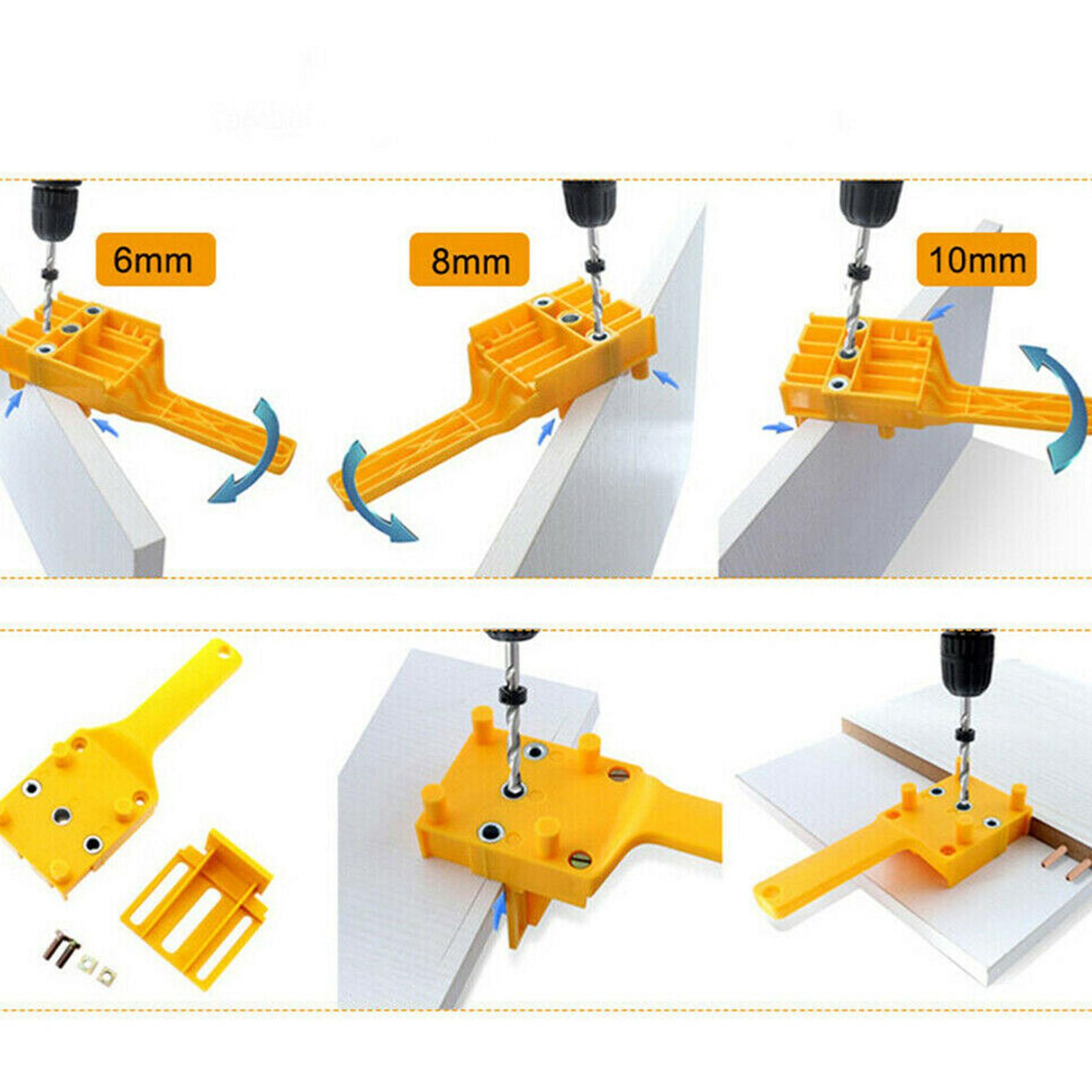 Chevilles Bohrlehre bohrhilfe pour 8 mm Chevilles