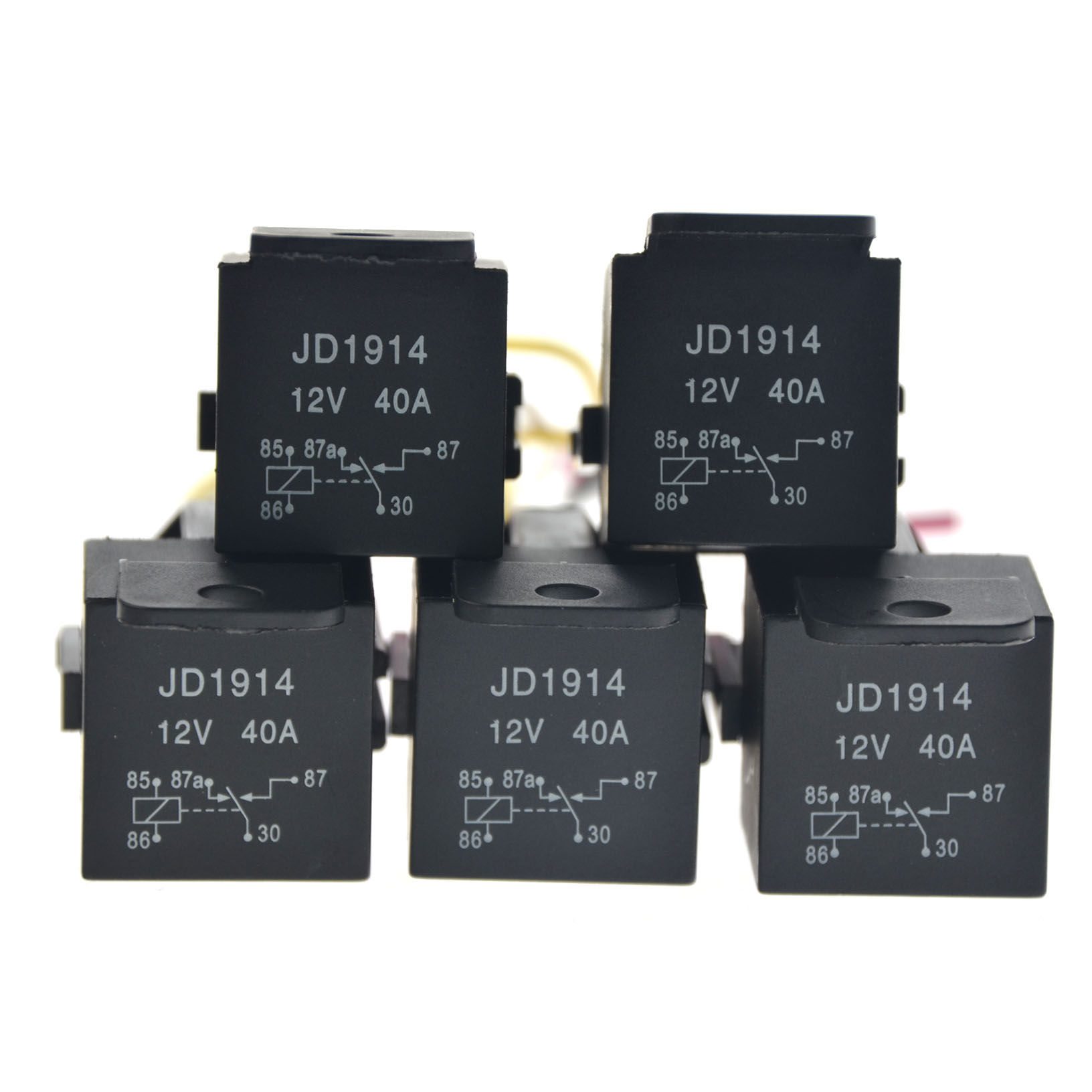 5 Pack 12v 30  40 Amp 5