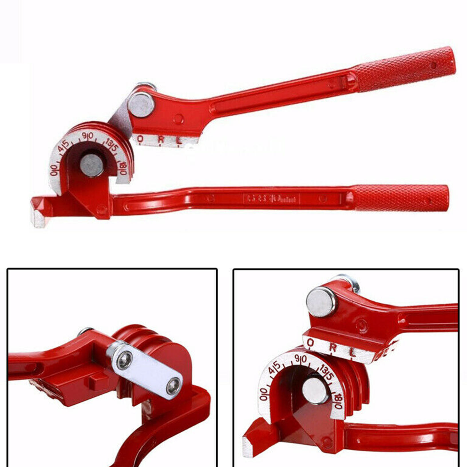 180 Degree Pipe Tube Bender Lever 1//4 and 3//8 5//16 8mm Plumbing Tools Hand Tool 6mm 10mm